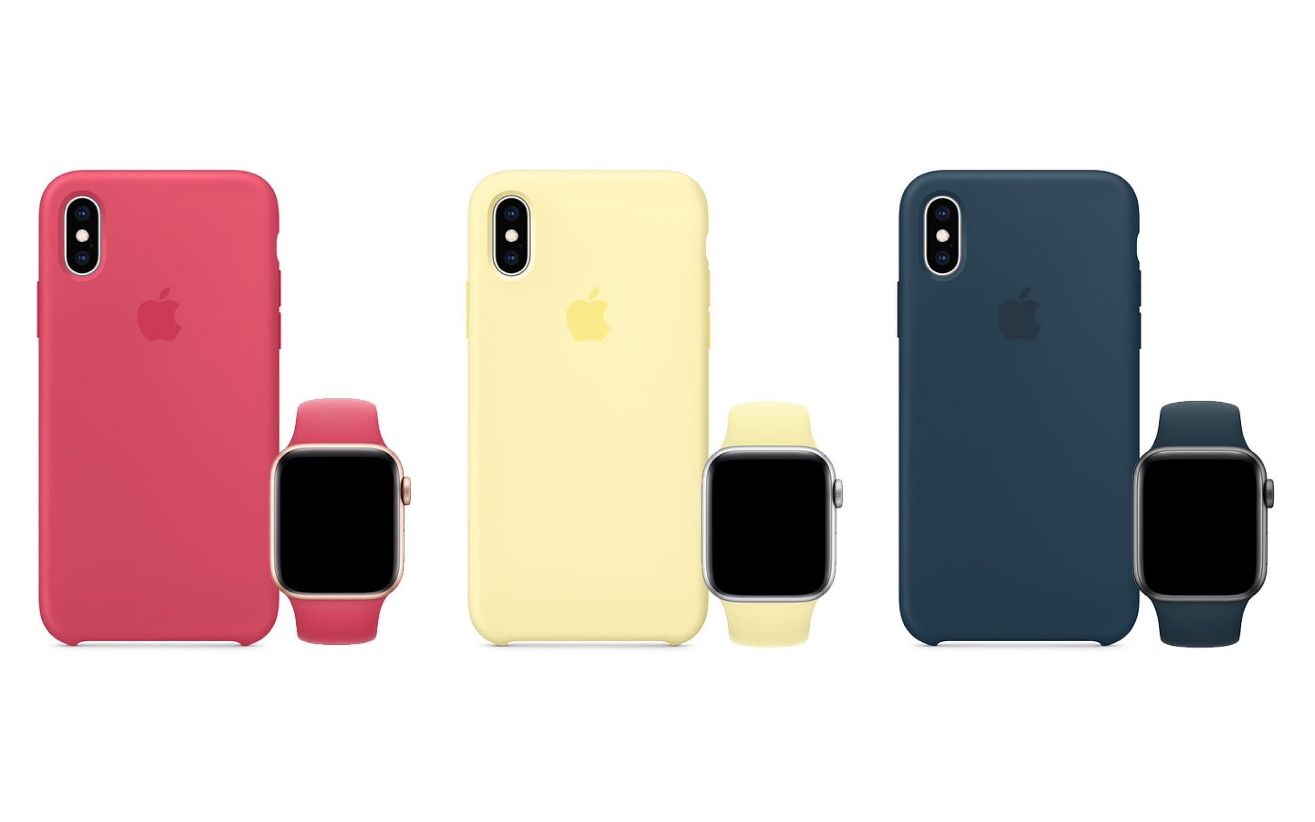 Apple Launches iPhone XS Cases and Apple Watch Bands in Three New Colors
