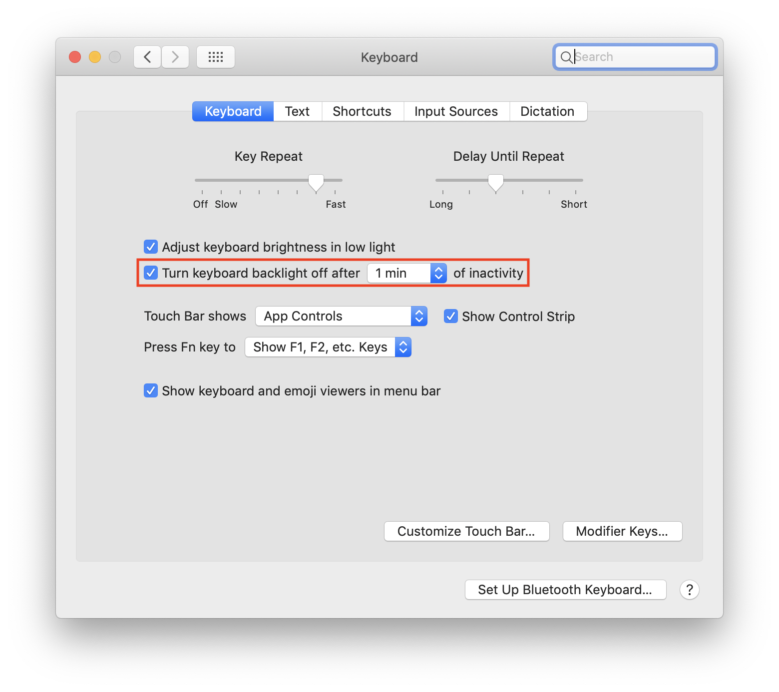 How to Automatically Turn Off Keyboard Backlighting with System Inactivity on MacOS