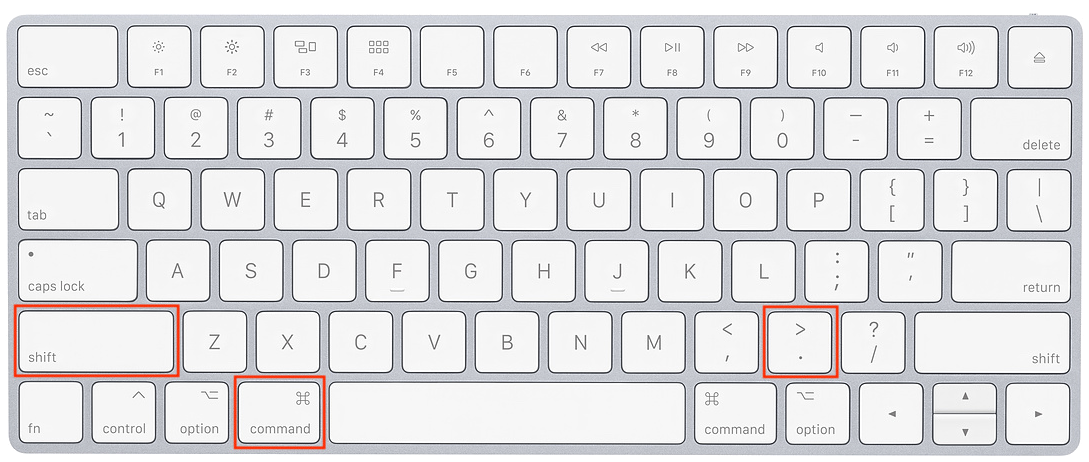 How to Show Hidden Files on MacOS with a Keyboard Shortcut