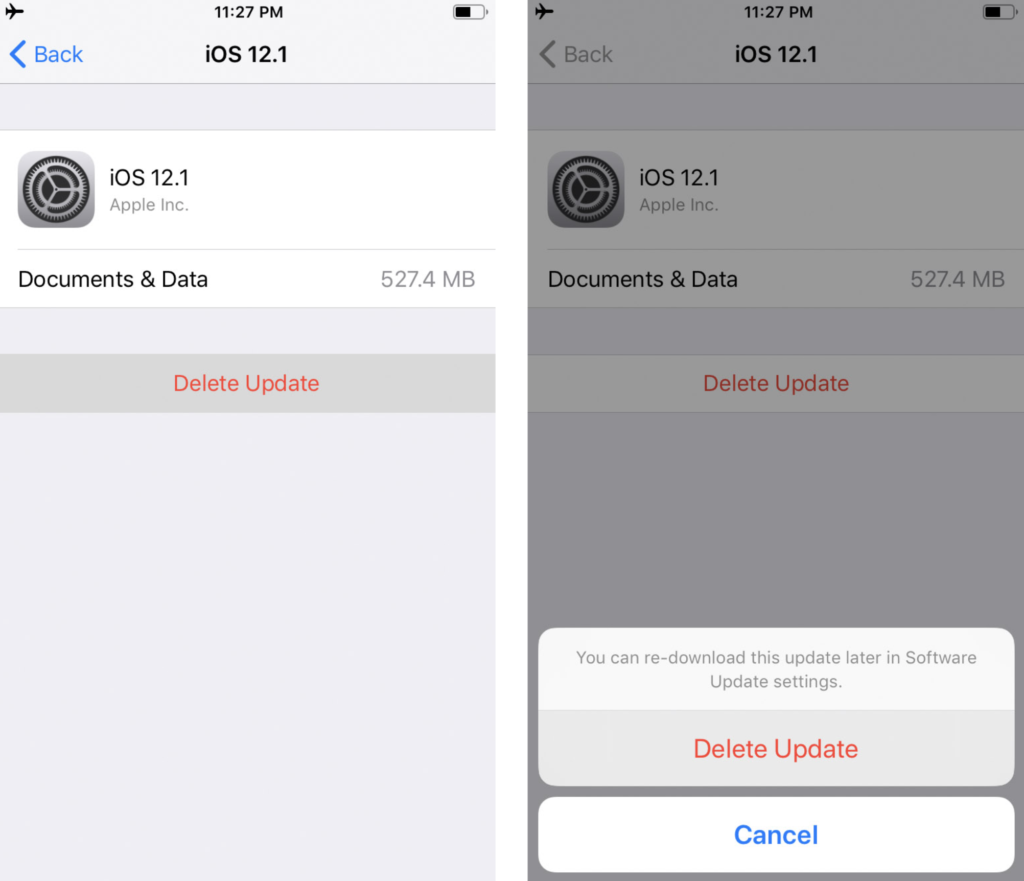 How to Stop an iOS Software Update That Has Already Started Downloading