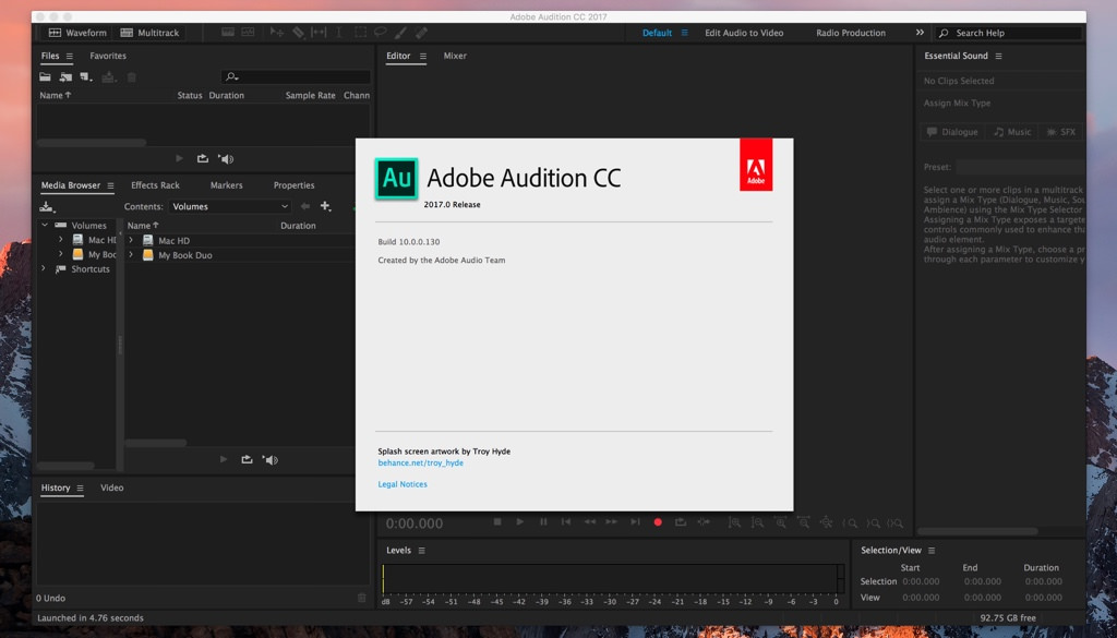دانلود Adobe Audition برای مک