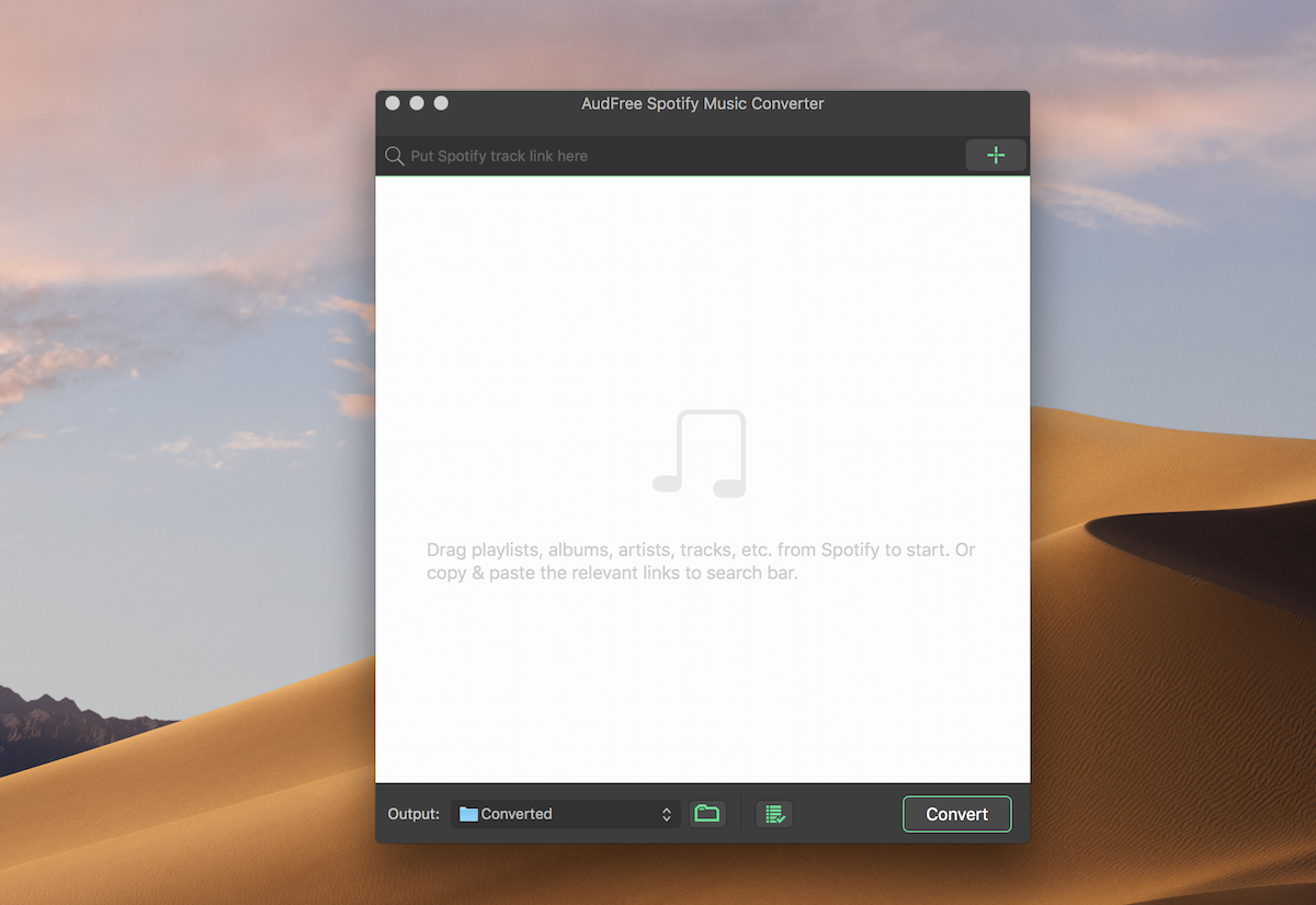 AudFree Spotify Music Converter 1.2.1