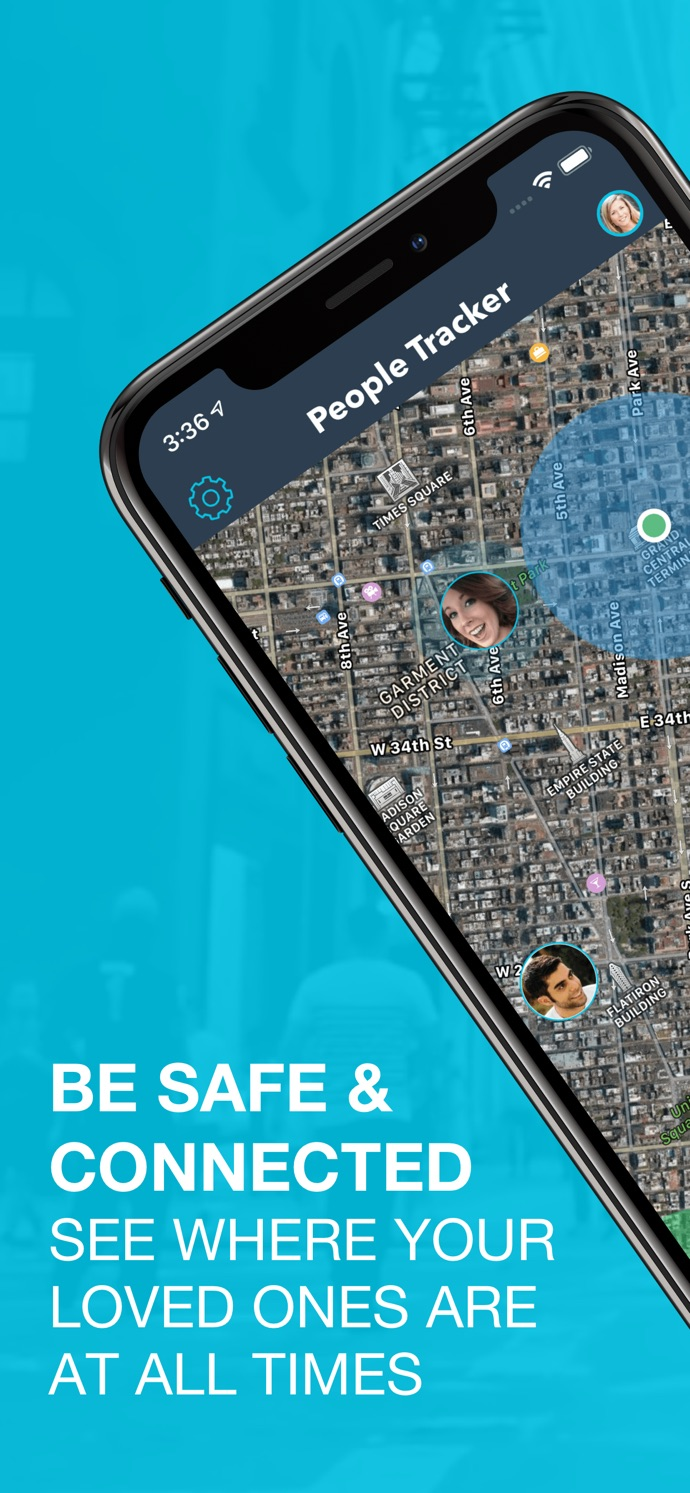 دانلود People Tracker  GPS Locator برای مک