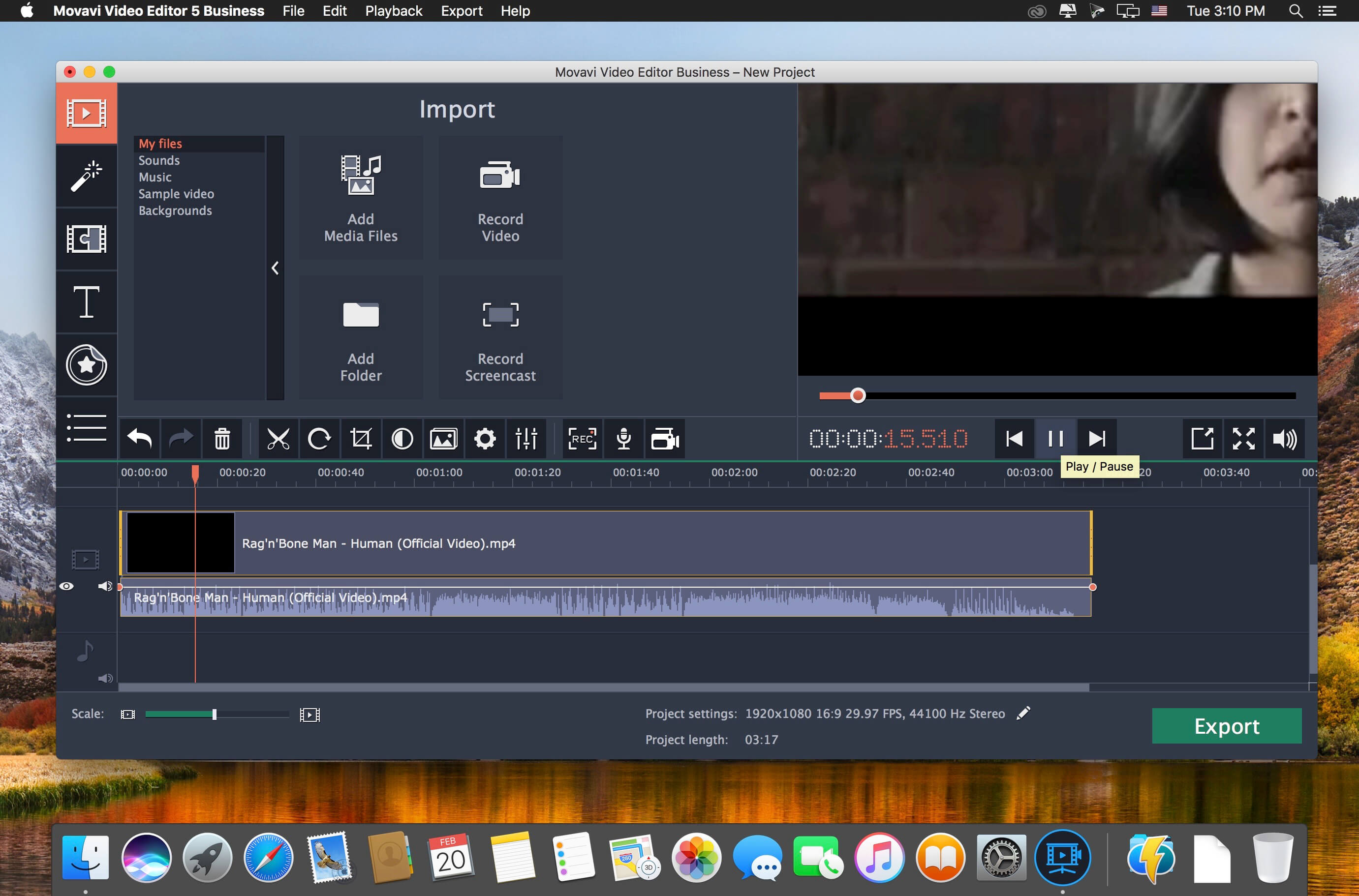 Movavi Video Editor Business 15.0.1
