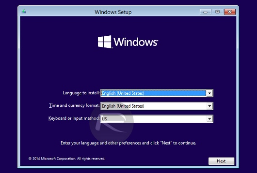 Window 10 bootcamp screenshot1