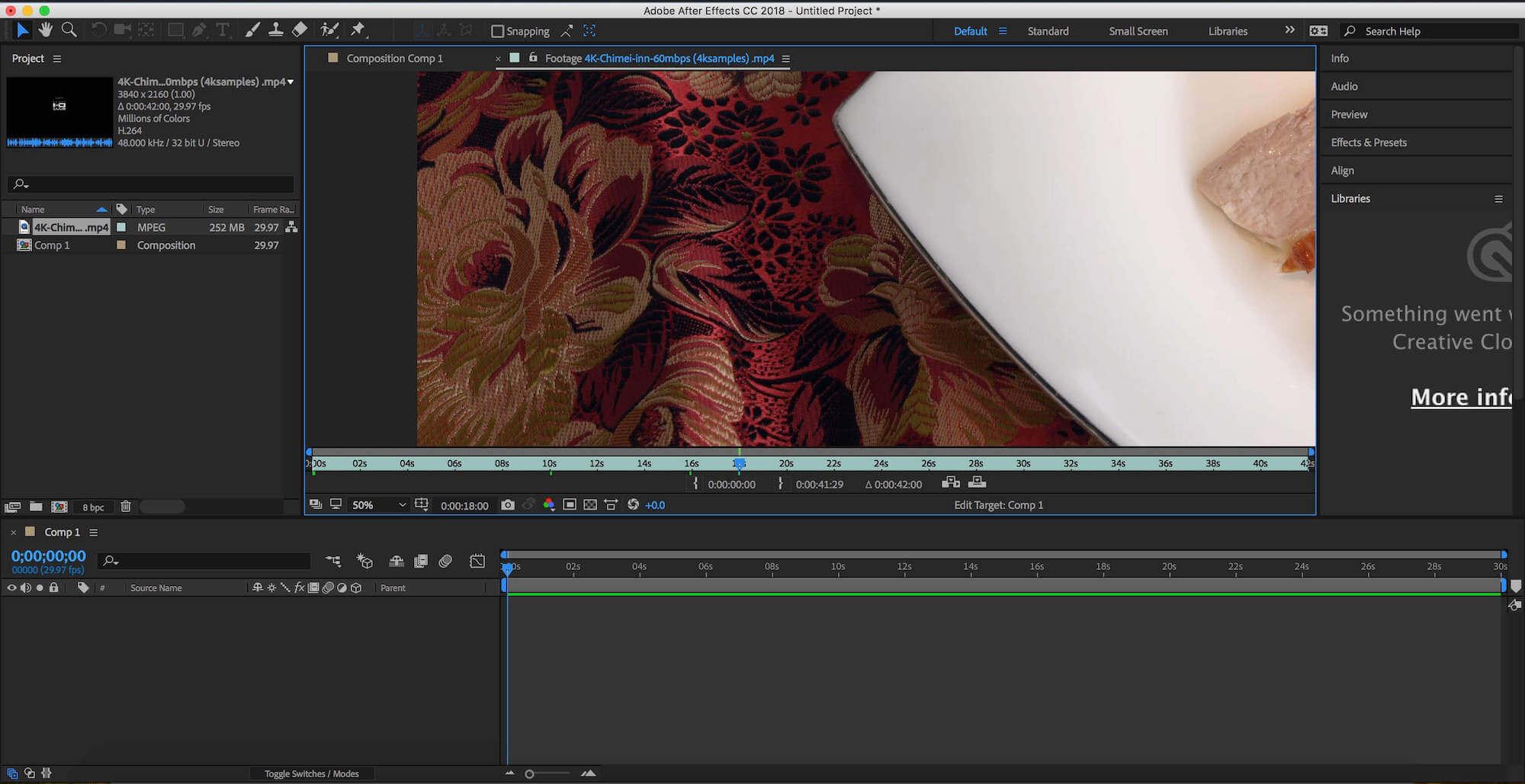 دانلود Adobe After برای مک