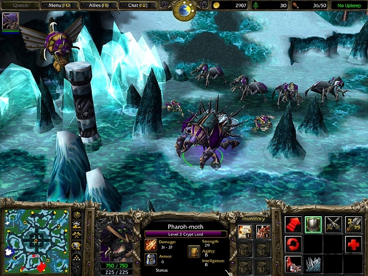 Warcraft III: The Frozen Throne 1.26